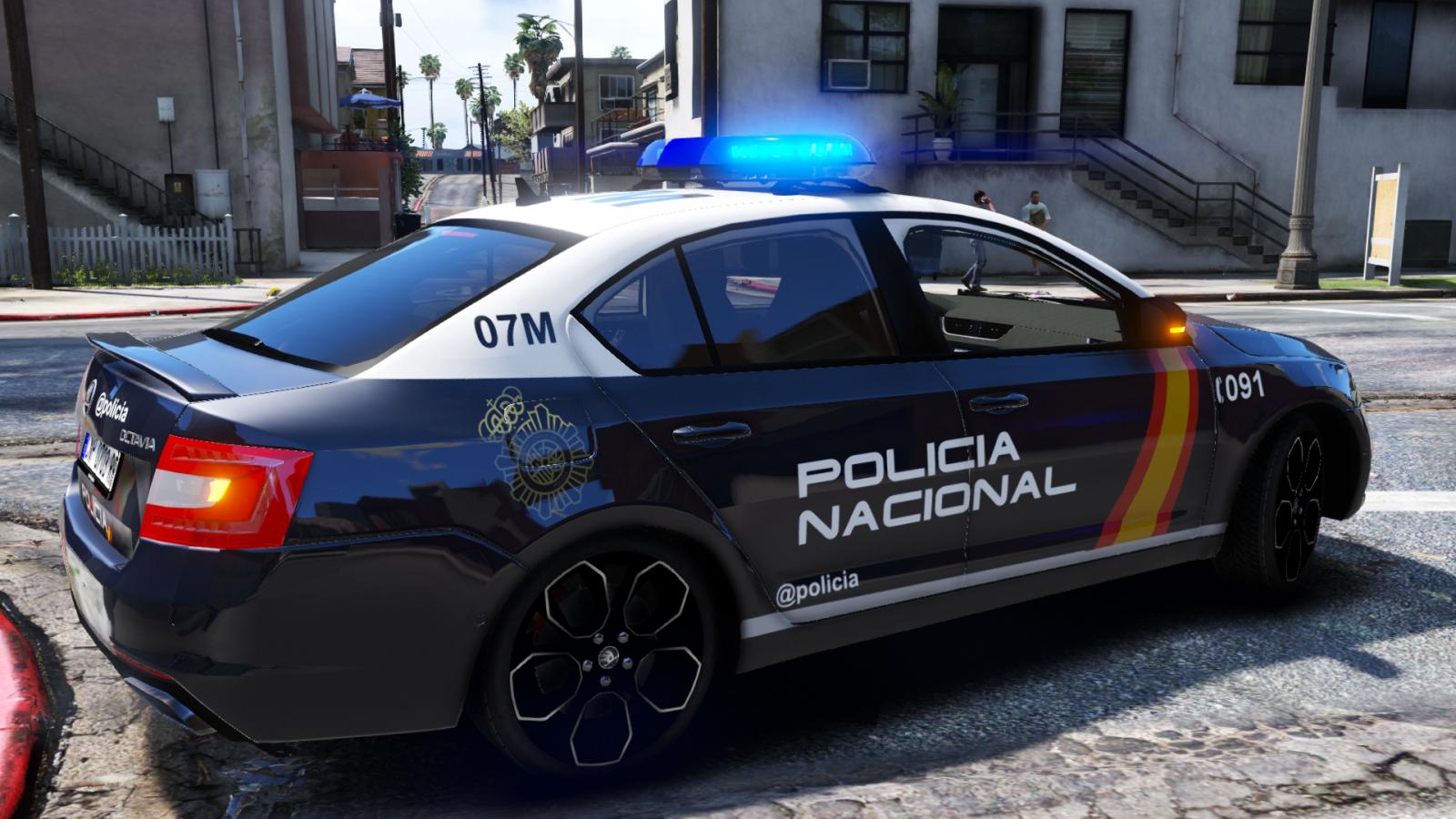 /Ficticio/ Skoda Octavia VRS Policía Nacional.