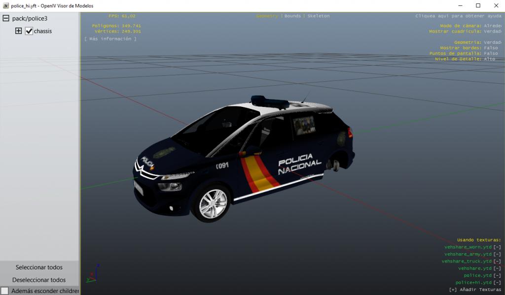 Como instalar mods de Guardia Civil y Policía Nacional en GTA 5